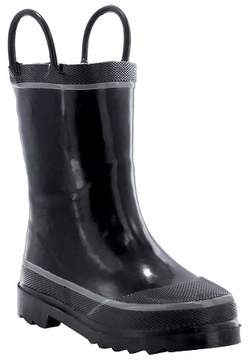 Western Chief Toddler Boy Firechief 2 Rain Boot Black
