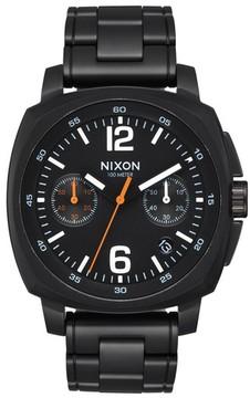 Nixon Men's Charger Chronograph Bracelet Watch, 42Mm