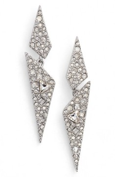 Alexis Bittar Women's Crystal Encrusted Dangling Drop Earrings