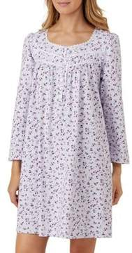 Eileen West Short Cotton Nightgown
