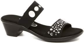 Onex Sonic Elastic Metal Ornamented Dress Sandals