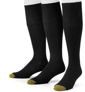 Gold Toe GOLDTOE Men's GOLDTOE 3-pk. Canterbury Over-the-Calf Dress Socks