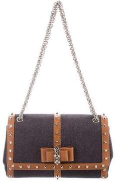 Christian Louboutin Denim Sweet Charity Bag