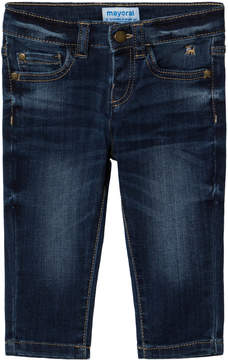Mayoral Dark Wash Slim Fit Jeans