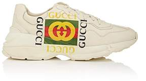 Gucci Men's Rhyton Leather Sneakers