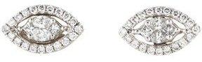 Amrapali 18K Diamond Navette Stud Earrings