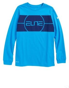 Nike Boy's Dry Elite Logo T-Shirt