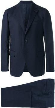 Lardini notched lapel two-piece suit