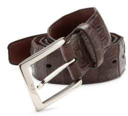Saks Fifth Avenue COLLECTION South American Caiman Leather Belt