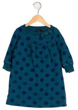 Little Marc Jacobs Girls' Printed Knit Dress