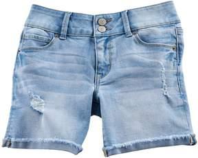 Mudd Girls 7-16 & Plus Size Denim Midi Shorts