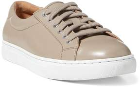 Polo Ralph Lauren | Drew Nappa Leather Sneaker | 11 us | Taupe