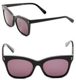 Stella McCartney Stella Mccartine 55mm Rectangle Sunglasses