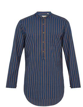 Oliver Spencer Panarea striped cotton shirt