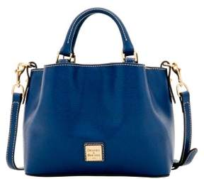 Dooney & Bourke Saffiano Mini Barlow Top Handle Bag - MARINE - STYLE