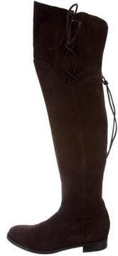 Ermanno Scervino Lace-Up Over-The-Knee Boots