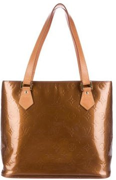 Louis Vuitton Vernis Houston Tote - BROWN - STYLE