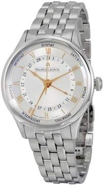 Maurice Lacroix Masterpiece Cinq Aiguilles Silver Dial Men's Watch