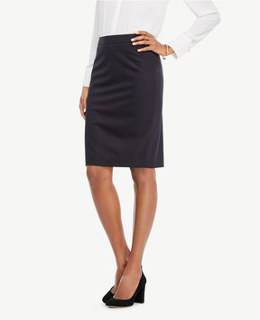 Ann Taylor Tropical Wool Pencil Skirt