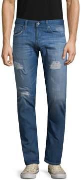 AG Adriano Goldschmied Men's Tellis Distress Jeans