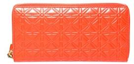 Comme des Garcons Men's Sa011eorange Orange Leather Wallet.