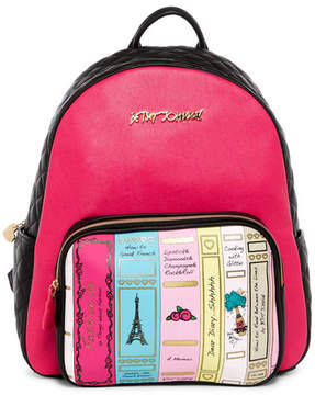 Betsey Johnson Library Backpack