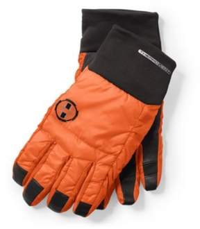 Ralph Lauren Insulated Nylon Gloves Black/Shocking Orange S/M