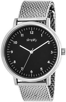 Simplify The 3200 Collection SIM3202 Unisex Watch with Mesh Bracelet-Style Band