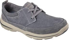 Skechers Harper Mens Canvas Lace-Up Shoes