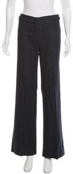 Barbara Bui Mid-Rise Wide-Leg Jeans