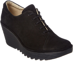 Fly London Yumi Suede Wedge Bootie