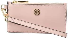 Tory Burch Parker Zip Card Case Credit card Wallet - BLACK - STYLE