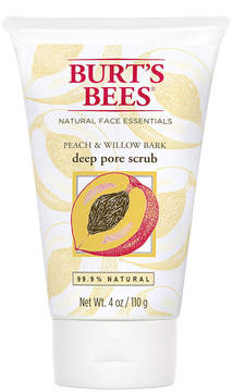Peach & Willowbark Pore Scrub by Burt's Bees (4oz Scrub)
