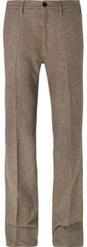 Prada Virgin Wool-Tweed Trousers