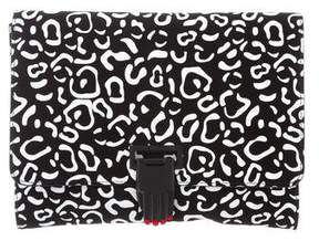 Opening Ceremony Leather Nokki Clutch