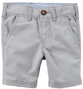 Carter's Little Boys Flat-Front Shorts Grey 2T
