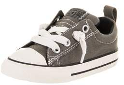 Converse Toddlers Chuck Taylor All Star Street Ox Slip Casual Shoe.