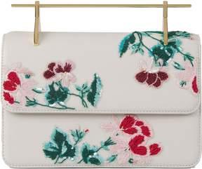M2Malletier Embroidered La Fleur Du Mal Bag
