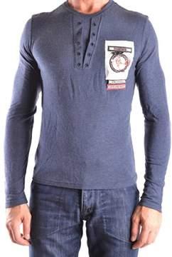 CNC Costume National Men's Blue Viscose Sweater.
