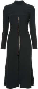 Christian Siriano zipped flared dress