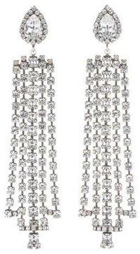 Dannijo Sade Crystal Statement Earrings