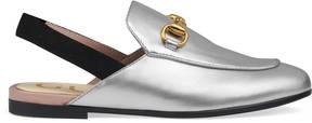 Gucci Children's Princetown leather slipper