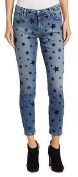 Current/Elliott The Stilt Flocked Star Jeans