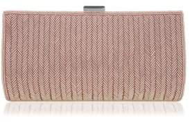 Nina Hindy Beaded Satin Clutch