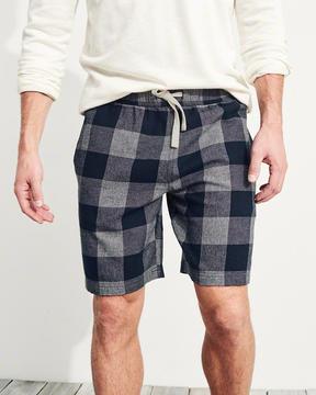 Hollister Stretch Flannel Shorts