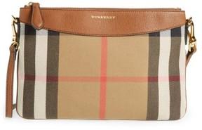 Burberry 'Peyton - House Check' Crossbody Bag - Beige - BEIGE - STYLE