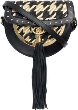 Balmain woven Domaine 18 shoulder bag