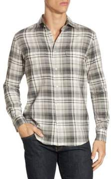 Ralph Lauren Purple Label Steward Plaid Button-Down Shirt