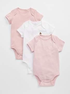 Gap Short Sleeve Bodysuit (3-Pack)