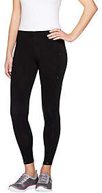 Cuddl Duds Cotton Smart Ankle Pants with Side Pockets